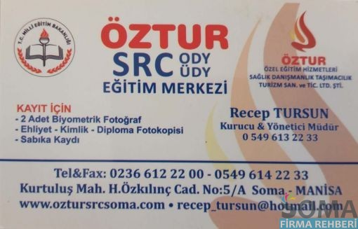 ÖZTUR SRC ODY ÜDY EĞİTİM MERKEZİ