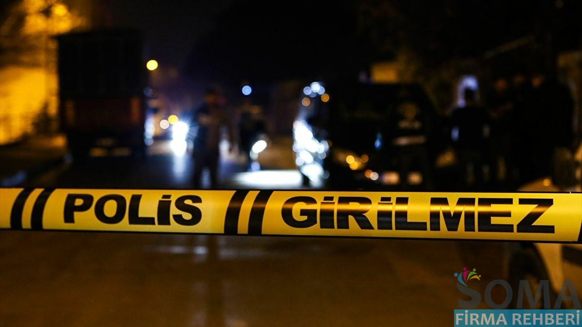 Soma Faik Usta'da Cinayet : 1 Ölü