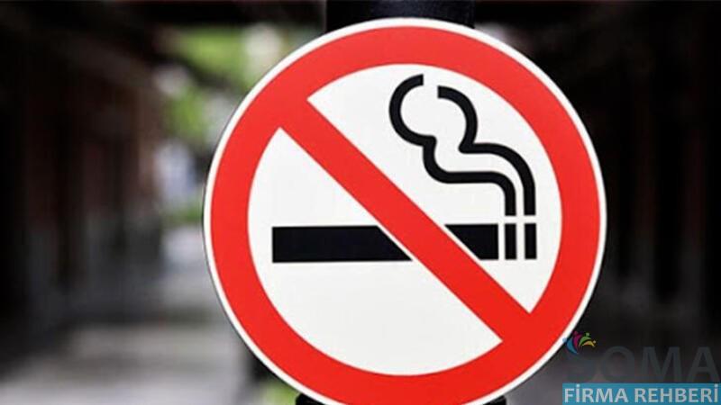 Soma'da Sigara İçmenin Yasak Olduğu Yerler